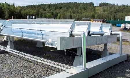 槽式太阳能热水机组研发