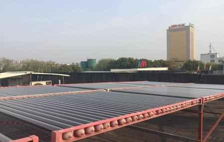 上海真空管型太阳能机组研发