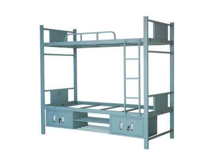 带柜上下双层钢架床厂家报价