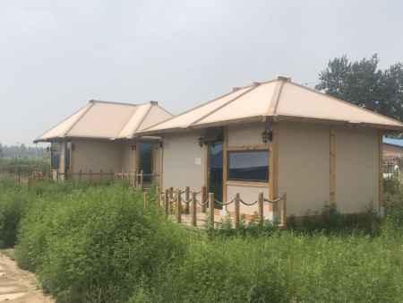 柔性材料小木屋