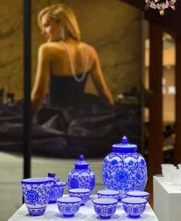 水晶茶具套装销售