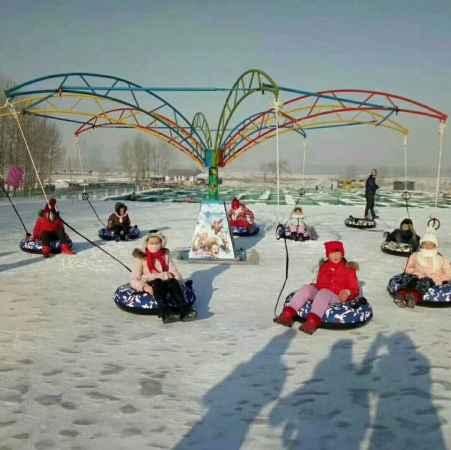 天津滑雪场雪地转转