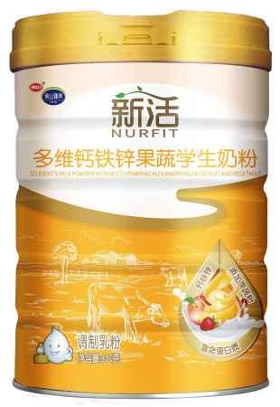 新活多维钙铁锌果蔬学生奶粉厂家