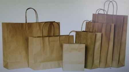 牛皮手提纸袋销售